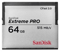 SanDisk 64GB CF EXTREME CFast 2.0 515MB/s
