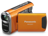 Panasonic SDR-SW21 oranžová + 8GB karta zdarma!