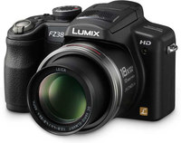 Panasonic Lumix DMC-FZ38 černý + 4GB karta + brašna Surrounder 80!