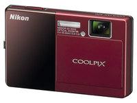 Nikon CoolPix S70 červený