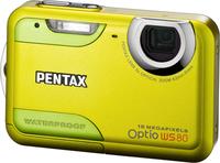 Pentax Optio WS80 zelený
