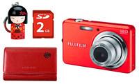 Fuji FinePix J32 červený