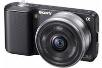 Sony NEX-3 černý + 18-55 mm