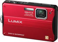 Panasonic Lumix DMC-FT10 červený