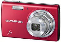 Olympus FE-5040 červený