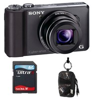 Sony CyberShot DSC-HX9 černý + akumulátor + 8GB Ultra karta + pouzdro Aha 70J!