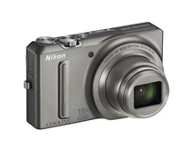 Nikon Coolpix S9100 stříbrný