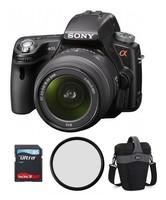 Sony Alpha A55 + 18-55 mm + 8GB Ultra + brašna TLZ25 + ochranný filtr 55mm!