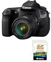 Canon EOS 60D + EF-S 18-55 mm IS II + EF-S 55-250 mm IS II