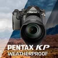 Pořiďte si Pentax KP spolu s objektivem a získejte Cashback až 1 990 Kč
