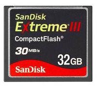 SanDisk 32 GB CF EXTREME III
