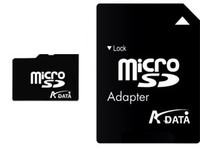 A-Data Micro SD (SDHC Class 6) 4GB karta + adaptér SD