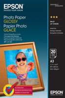 Epson Photo Paper Glossy A3, 20 listů