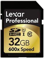 Lexar SDHC 32GB 600x, class 10, UHS-I