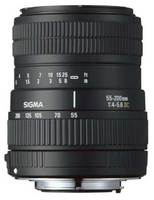 Sigma 55-200 mm F 4-5,6 DC pro Nikon