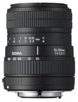 Sigma 55-200mm F 4-5,6 DC pro Pentax + utěrka Sigma zdarma!