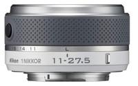 Nikon 1 11-27,5mm f/3,5-5,6 bílý