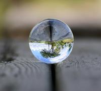 Larmor křišťálová koule 60mm
