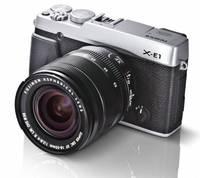 Fujifilm X-E1 tělo stříbrný + 35mm f/2,0 R WR