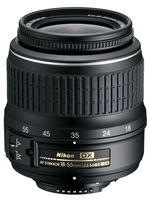 Nikon 18-55mm f/3,5-5,6 G II AF-S DX černý