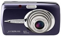 Olympus Mju 600 Digital modrý + Mju digital kit!!!