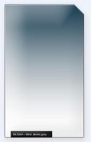 84.5mm Professional 150mm filtr střední modrý s jemným přechodem