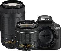Nikon D3400 + 18-55 mm AF-P VR + 70-300 mm AF-P VR černý