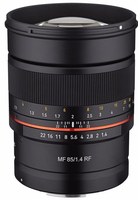 Samyang MF 85mm f/1,4 pro Canon RF