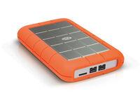 """LaCie Rugged Triple 500GB HDD, 2.5"""" FireWire 800 & USB 3.0, hliníkový, odolný"""