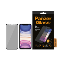 PanzerGlass tvrzené sklo Edge-to-edge Privacy pro iPhone 11 / XR černé
