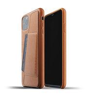 Mujjo kožené peněženkové pouzdro pro iPhone 11 Pro Max