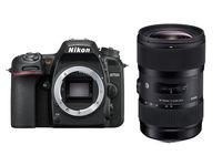 Nikon D7500 + Sigma 18-35 mm f/1,8 DC HSM Art
