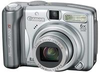 Canon PowerShot A720 IS + 1GB karta zdarma!