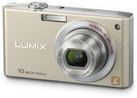 Panasonic Lumix DMC-FX35 zlatý