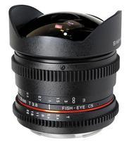 Samyang 8mm T/3,8 VDSLR CS pro Nikon