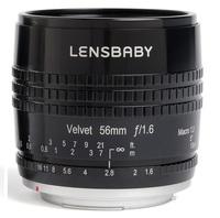 Lensbaby Velvet 56 pro Sony