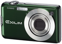 Casio EXILIM S12 zelený