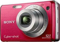 Sony CyberShot DSC-W230 červený