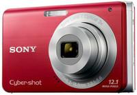 Sony CyberShot DSC-W190 červený