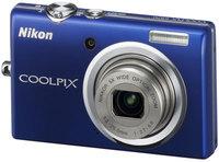 Nikon CoolPix S570 modrý