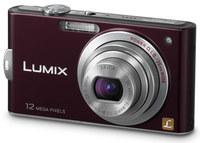 Panasonic Lumix DMC-FX60 vínový