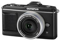 Olympus E-P2 černý Pancake Kit