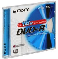Sony DVD+R 4,7GB 1ks