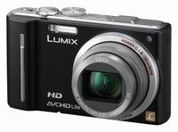Panasonic Lumix DMC-TZ10 černý + DVD přehrávač S54E-K + úsporná žárovka zdarma!