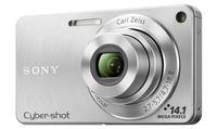 Sony CyberShot DSC-W350 stříbrný
