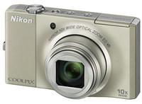 Nikon Coolpix S8000 stříbrný
