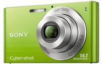 Sony CyberShot DSC-W320 zelený + fotbalový dres + mini míč zdarma!
