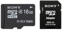 Sony Micro SDHC 16GB Class 4 + Adaptér