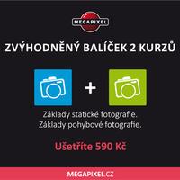 Zvýhodněný balíček dvou kurzů pro středně pokročilé fotografy