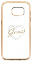 Guess Heart TPU pouzdro pro Samsung G935 Galaxy S7 Edge
